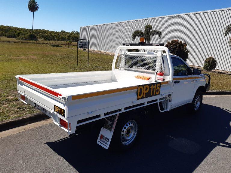 HILUX SINGLE CAB RAD ROPS TRAY