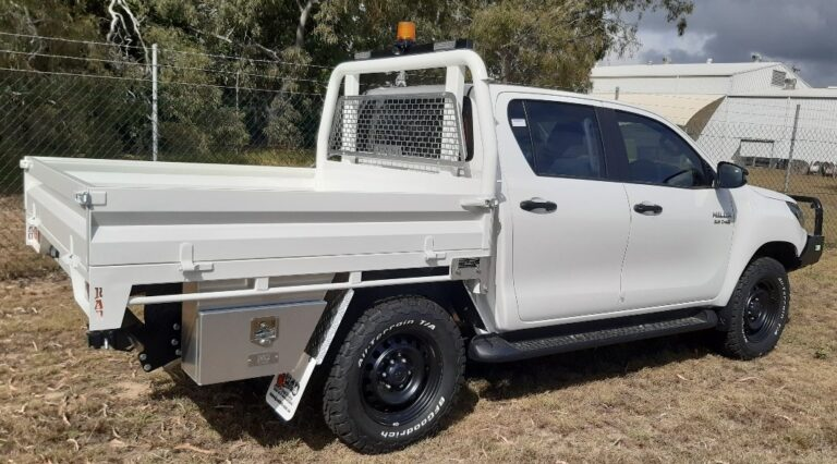 RAD TRAY BODIES - HILUX CONVERTIBLE ROPS TRAY